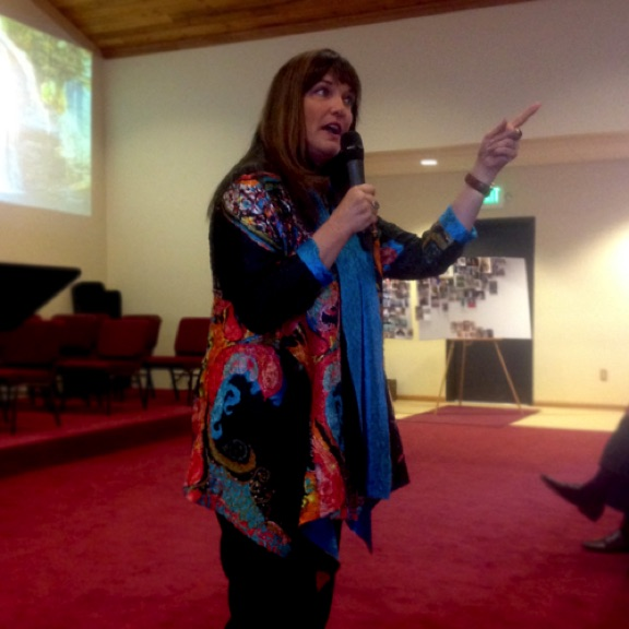 Prayer Warrior Mary Colbert, wife of Dr. Don Colbert, Teaching in 2015